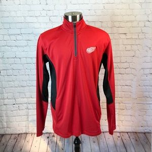 NHL Red Wings zip pullover